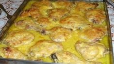 Recent Recipes - Receptik. Chicken Leg Recipes, Meat Recipes, Cooking Recipes, Hungarian Cuisine, Hungarian Recipes, Easy Healthy Recipes, Easy Meals, Good Food, Yummy Food