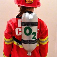 Learn how a 2 liter bottle transforms into your child's very own Firefighter Oxygen Tank #pretendplay #mypretendplace