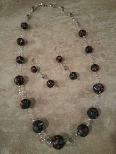 Quirky Cubes round bead necklace By Diane Louise  https://www.etsy.com/shop/ClayPlayDesigns