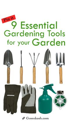 A good collection of can make your efforts less help your garden to grow even better way. So, Always choose good gardening tools to make your garden greener.