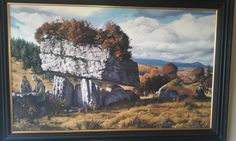 Painting of Labby Rock