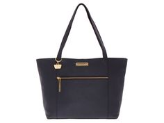 Portobello 'Brie' Navy Saffiano Leather Handbag #myluxury #bags #envy #style #fashion