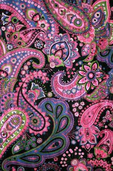 Pink Black Paisley | Flickr - Photo Sharing!
