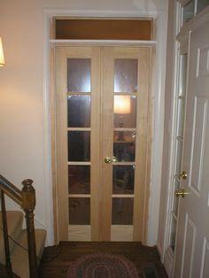 Interior Double Swing Doors Double Swing, Laundry Room Doors, Swinging Doors, Pocket Doors, Wood Bridge, Rook, Home Repair, Double Doors, Tall Cabinet Storage