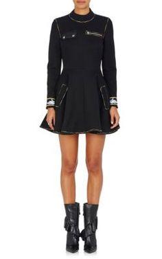 J.W.ANDERSON Cotton-Blend Fit & Flare Dress. #j.w.anderson #cloth #dress