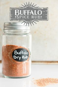 buffalo spice rub buffalo dry rub for wings Homemade Spices, Homemade Seasonings, Spice Blends, Spice Mixes, Bbq Dry Rub, Dry Rubs, Dry Rub Chicken Wings, Dry Rub For Wings, Dry Rub Recipes