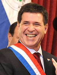 Horacio Cartes is Paraguay's President. Paraguay is a Constitutional Republic government.