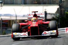 Fernando Alonso (ESP) Ferrari F2012.  Formula One World Championship, Rd6, Monaco Grand Prix, Qualifying Day, Monte-Carlo, Monaco, Saturday, 26 May 2012