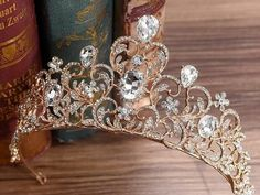 Crown Headband, Wedding Headband, Bridal Crown, Wedding Hair, Bridal Headpieces, Bridal Hair, Cute Jewelry, Hair Jewelry, Bridal Jewelry