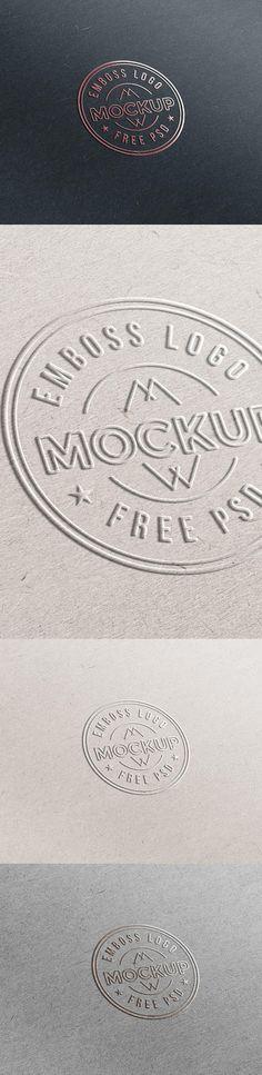 PSD исходник - Лого Mockup
