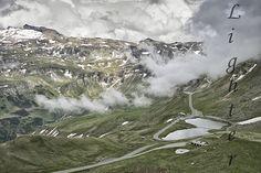 Pohled z Grossglocknerské vysokohorské silnice