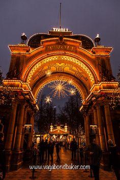 Christmas Copenhagen. Tivoli