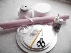 Подставка под десерты и капкейки своими руками | Специалист по дизайну и декору