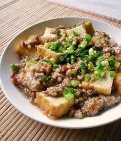 ご飯ススム~厚揚げと豚ひき肉♪ by moj [クックパッド] 簡単おいしいみんなのレシピが239万品