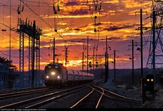 RailPictures.Net Photo: AMTK 947 Amtrak ASEA AEM-7 at Perryville, Maryland by Mitch Goldman