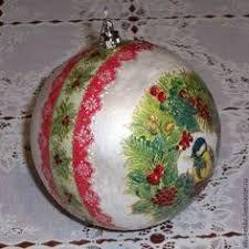 Resultado de imagem para елена сухотина новогодние шары
