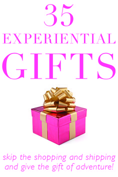 35 Experiential Gift
