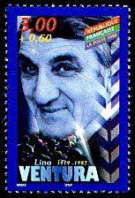 Lino Ventura 1919-1987 Acteurs de cinéma français - Timbre de 1998