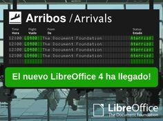 LibreOffice, la herramienta por excelencia en IEDA. Gratuita y fácil de usar.