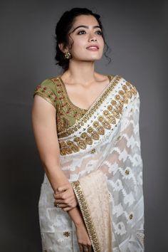 Rashmika Mandanna Stills From Behind Woods Awards - LinksInd Beautiful Girl In India, Beautiful Girl Photo, Beautiful Saree, Beautiful Bollywood Actress, Most Beautiful Indian Actress, Beauty Full Girl, Beauty Women, Women's Beauty, Cute Girl Poses