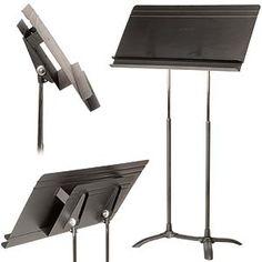 Manhasset Regal Conductor's Music Stand, Auto-Adjust. at Johnson String Instrument