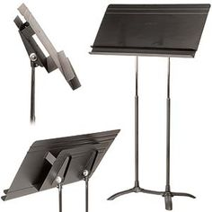 Manhasset Regal Conductor's Music Stand, Auto-Adjust. at Johnson String Instrument