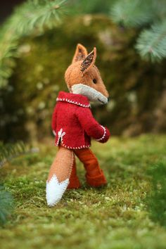 Felix the Fox hand-sewing pattern by CynthiaTreenStudio on Etsy