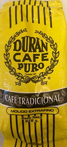 Cafe Duran Tradicional Molido Extrafino Extra Fine Ground Half Pound 212 gr Mountain Grown Panama Coffee The Best In The World >>> Be sure to check out this awesome product. (This is an affiliate link and I receive a commission for the sales)