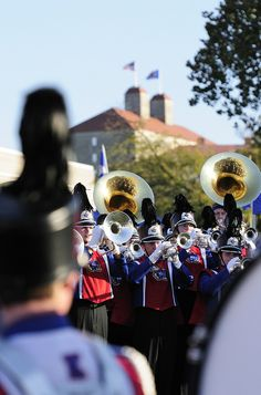 Marching Band By The University of Kansas Official Flickr Site
