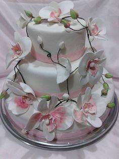 TORTA  CAKE ORCHIDEA