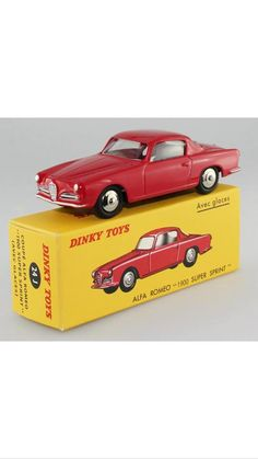 "Dinky Toys - 24J: Alfa Rome0 ""1900 Super Sprint"""