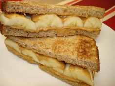 Peanut Butter Banana Sandwich | Recipes | EXOS Knowledge | EXOS formerly Core Performance