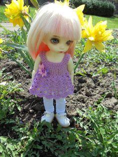 1 x outfit pro 1/6 bjd fairyland LittleFee Bisou 4 PCS