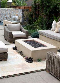 Backyard Landscaping Style Suggestions-Fresh Contemporary And Rustic Fire Pit Design And Style Ideas | IKEA Decoration