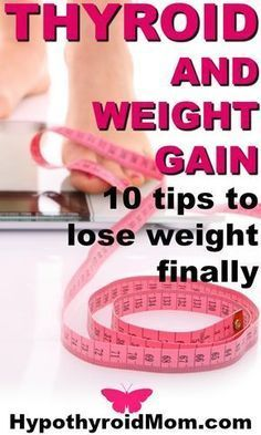 10 tips to lose weight with a low thyroid problem. HypothyroidMom.com #weight #thyroid
