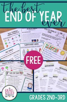 FREE end of year ide
