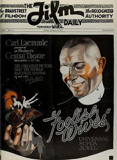 Erich von Stroheim, The Film Daily, 1922 | Flickr