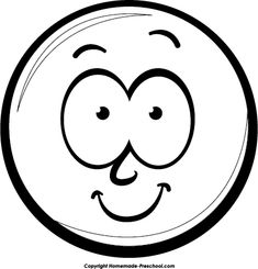 smiley faces clip art black and white smiley face clip art black