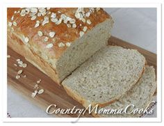 Country Momma Cooks: Leftover Oatmeal Bread