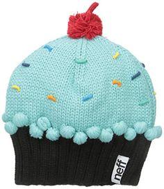 a36c4a1460d Neff Women s Cupcake Beanie Hat  Neff  Womens  Cupcake  Beanie  Hat ...