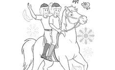 8 Best Ausmalbilder Bibi Und Tina Images Coloring Pages