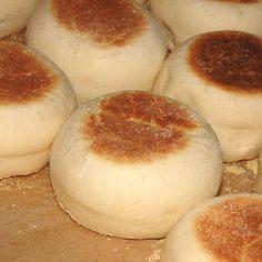Chef Alton Brown English Muffins; My boyfriend randomly loves these
