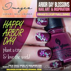 Happy Arbor Day! Check out these cute nails. Do you like this nail design? let us know!