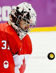 Carey Price Love him! Olympic Hockey, Pro Hockey, Hockey Goalie, Hockey Stuff, Hockey Games, Hockey Players, Hockey Helmet, Football Helmets, Hockey Boards