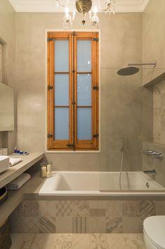 Op zoek naar inspiratie voor het inrichten van een kleine badkamer? Klik hier en raak geinspireerd van deze super leuke badkamer!