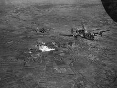 a vasúti pályaudvar bombázása 1944-ben.