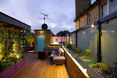Aménagement de toit-terrasse – paradis vert au milieu de la ville