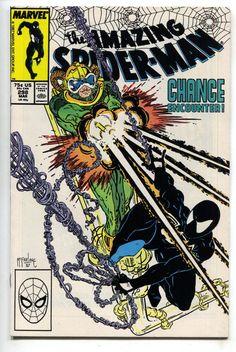 Amazing Spider-Man 298 Marvel 1988 NM 1st Venom Cameo Todd McFarlane