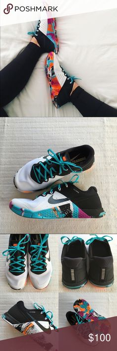 Women's Nike Metcon 2 Crossfit Training Shoes Women's Nike Metcon 2 Crossfit Training Shoes Style/Color: 821913-102  • Women's size 9  • NEW in box (no lid) • No trades •100% authentic Nike Shoes Sneakers
