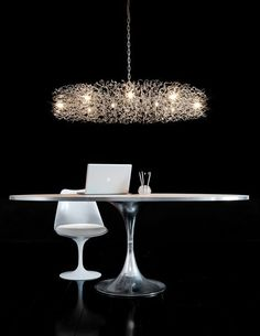 Hollywood Round Chandelier | Brand Van Egmond at Lightology